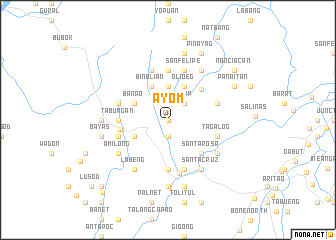 map of Ayom