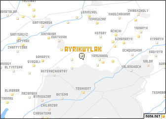 map of (( Ayrikuylak ))