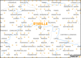 map of Aywaille