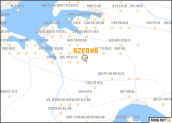 map of Azenha