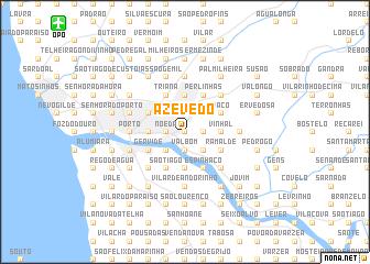 map of Azevedo
