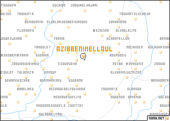 map of 'Azib Beni Melloul
