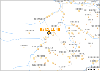 map of Azizullāh