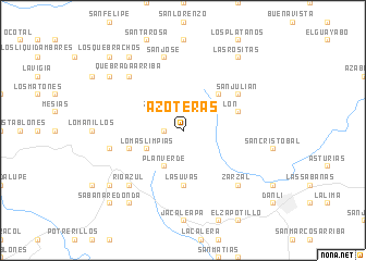 map of Azoteras