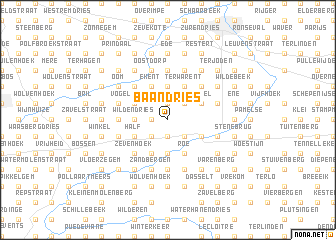 map of Baandries