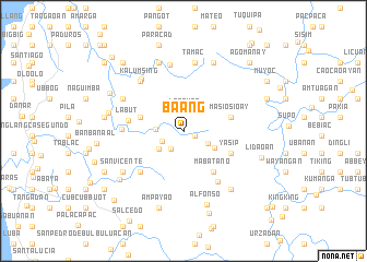 map of Baang