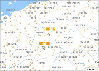 map of Baang