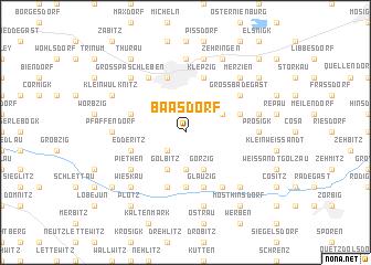 map of Baasdorf