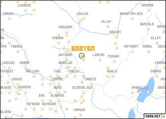 map of Ba-Ayan