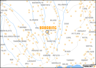 map of Bababing
