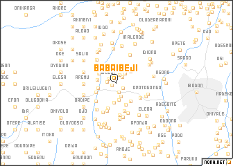 map of Baba Ibeji