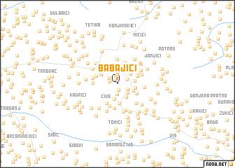 map of Babajići