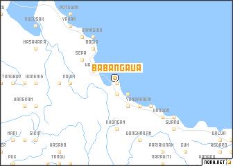 map of Babangaua