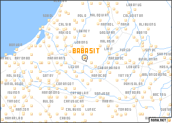 map of Babasit
