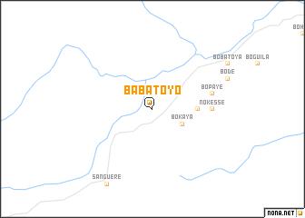 map of Babatoyo