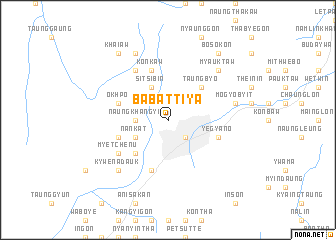 map of Ba-battiya