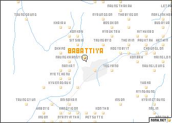 map of Ba-battiya