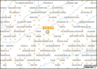 map of Babau