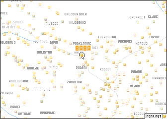 map of Baba