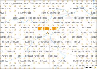 map of Babbelaar