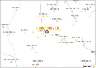 map of Bāb Bīdū'īyeh