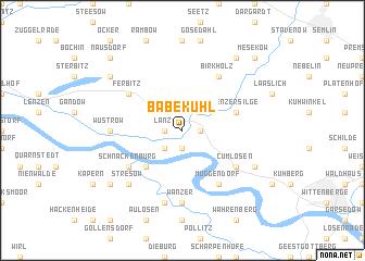 map of Babekuhl
