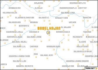 map of Bab el Hajar