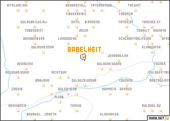 map of Bab el Heït