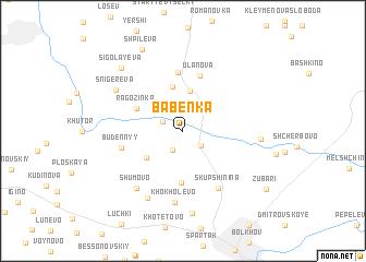 map of Babenka
