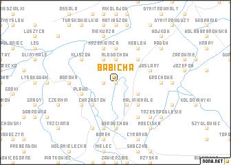 map of Babicha