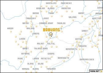 map of Babuang