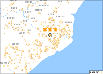 map of Babunuk