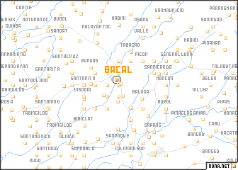 map of Bacal