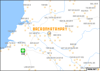 map of Bacaon-Matampay