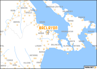 map of Baclayon