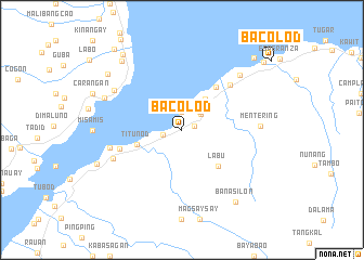 Bacolod Philippines map nonanet