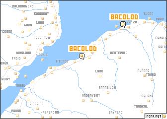 Bacolod Philippines Map Nonanet - Bacolod map