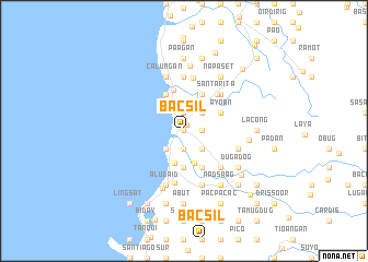 map of Bacsil