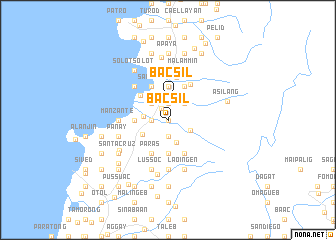 map of Bacsil