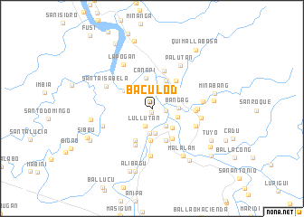 map of Baculod