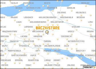 map of Baczki Stare