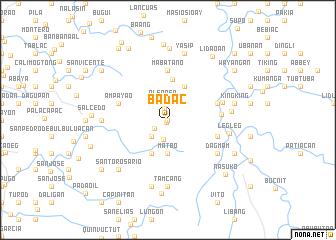 map of Badac