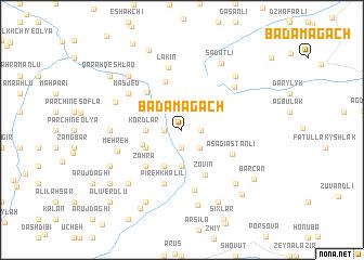 map of Badamagach