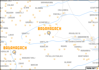 map of Badamagach
