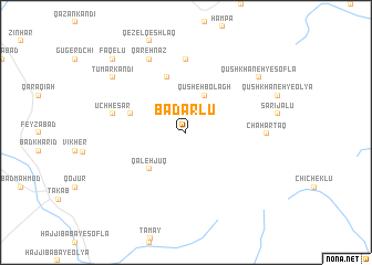 map of Badarlū