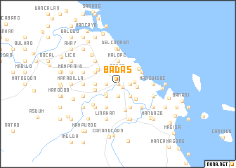 map of Badas