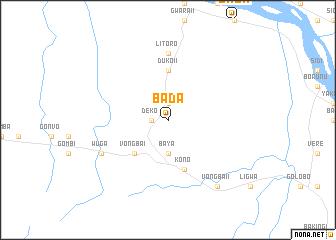 map of Bada