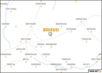 map of Badèdsi