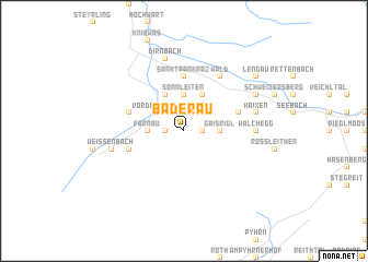 map of Baderau
