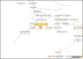 map of Baderau